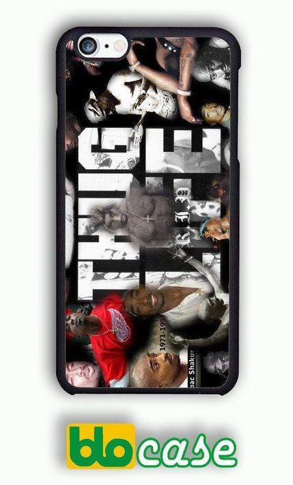 iPhone 6 Case - 2pac tupac THUG LIVE Plastic Case Design
