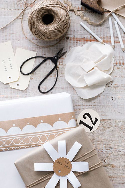 Look Close...several unique little touches you can add to your handmade #Gift #wrapping