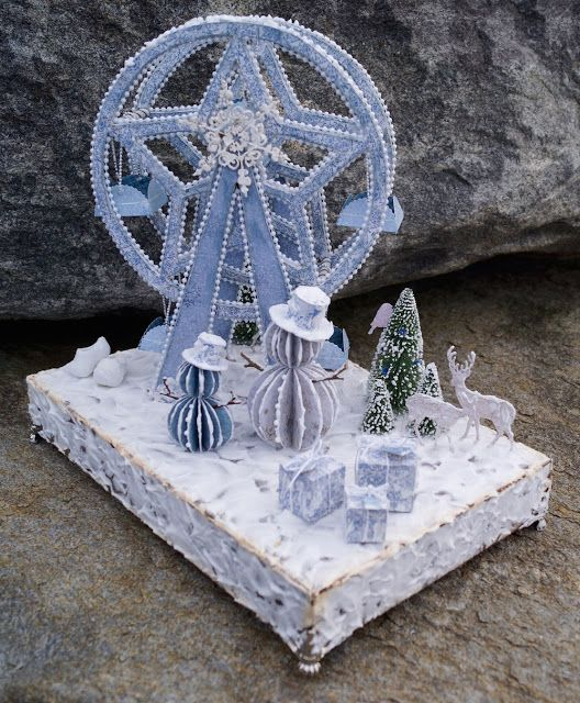 Mitt Lille Papirverksted: My Winter Wonderland