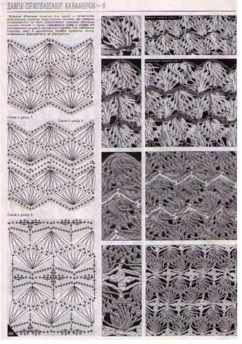 broomstick lace strips  *duplet magazine
