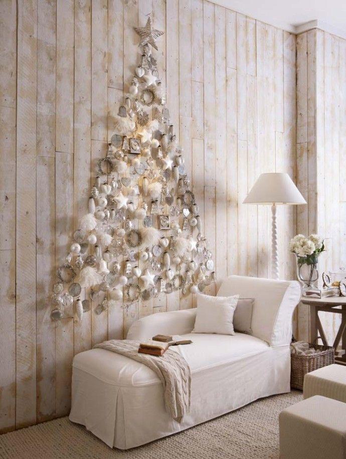 Space Saving Christmas Tree: Noel sapin mur ~ Luxury Design