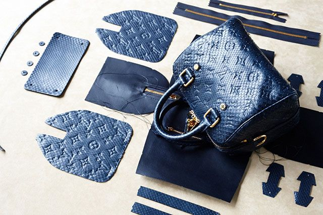 The Making of a Louis Vuitton Speedy Bag by CR Fashion Book (1)