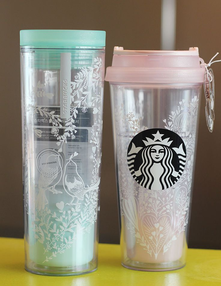 Happy Valentineu0027s Day With Starbucks Korea Lovebird Crosby Lovebird Tumbler  SET