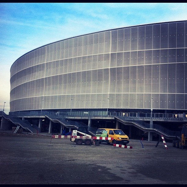 #Euro2012 #Wroclaw Football Stadium