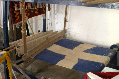 The first flag of Greece was created and hoisted in the Evangelistria monastery in Skiathos in 1807.