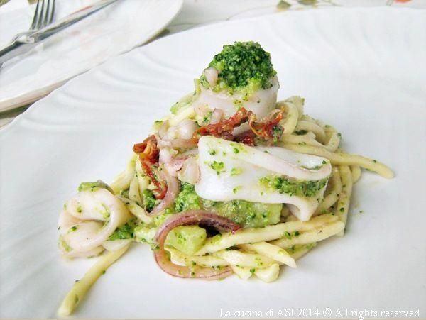 troccoli calamari broccoletti La cucina di ASI