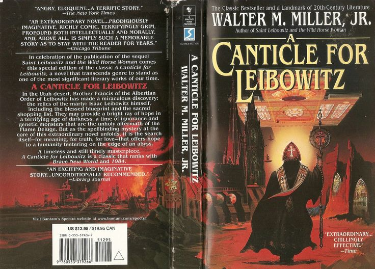 canticle for leibowitz walter miller Canticle for leibowitz by walter miller, 9780553273816, available at book depository with free delivery worldwide.