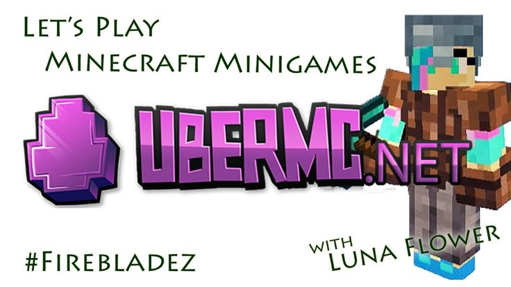 Let's Play Minecraft Minigames: A Look Round UberMinecraft