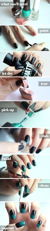 Ombre Nails Manicure