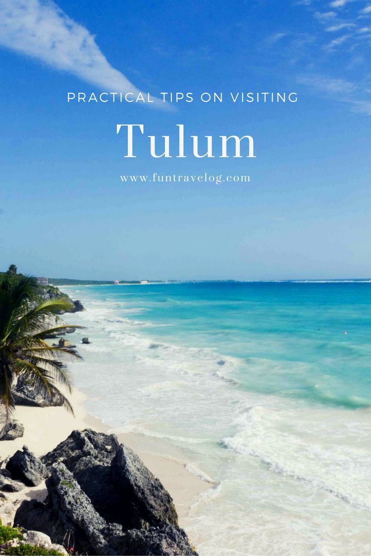 Here's a quick and easy practical guide on getting around in Tulum, Mexico. #Tulum #Mexico