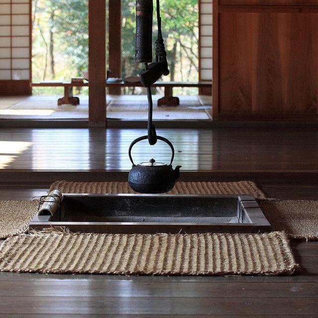 IRORI in japanese farmhouse