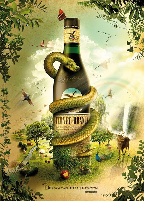 Fernet Branca - Poster for ARTE UNICO contest