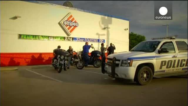 Cerca de 200 detenidos en tiroteo entre cinco bandas motoristas en Texas