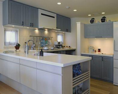 北欧 L型キッチン