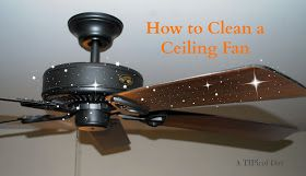 A TIPical Day: Cleaning Ceiling Fans, the easy way! Only 5 min.