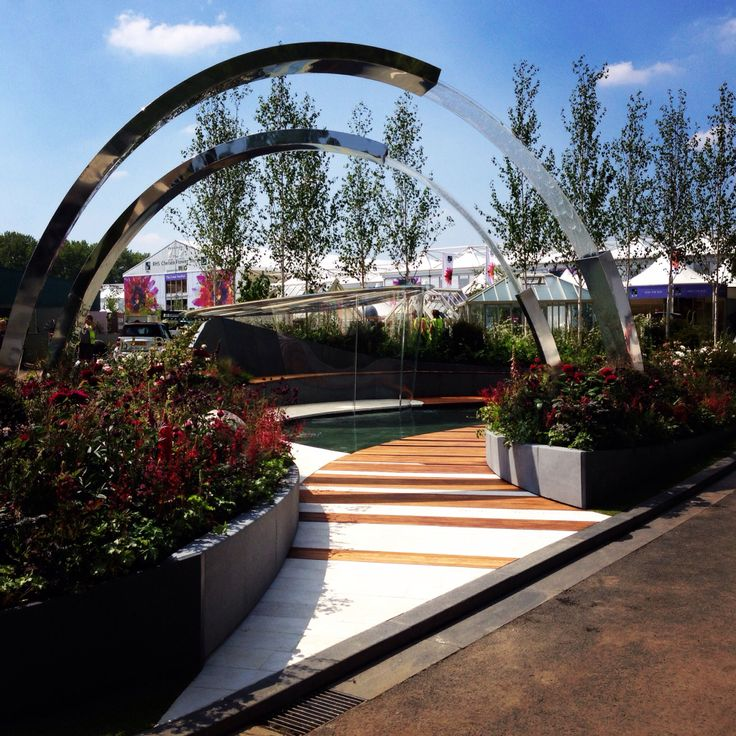 My beautiful Chelsea flower show garden 2014 for Positively Stoke on Trent-