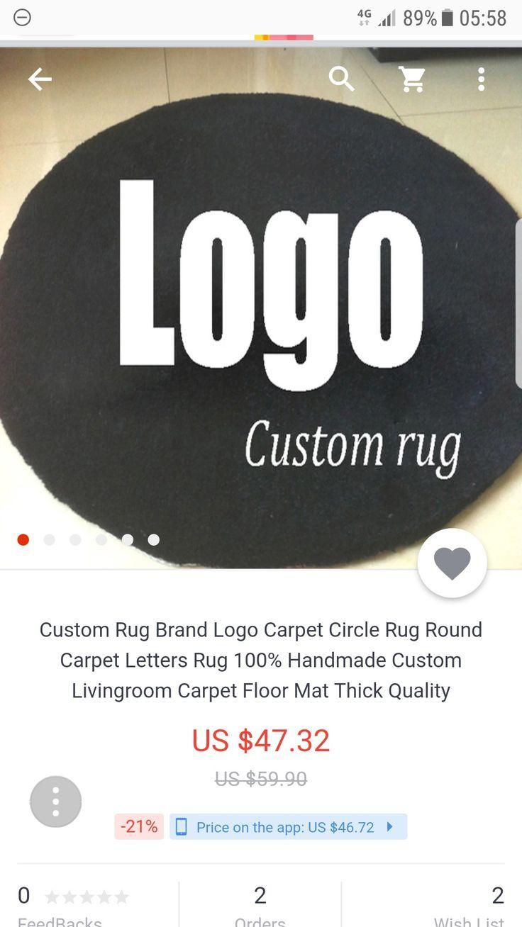 Custom rugs by Karley Gillis on STUDIO•YELRAK Circle rug