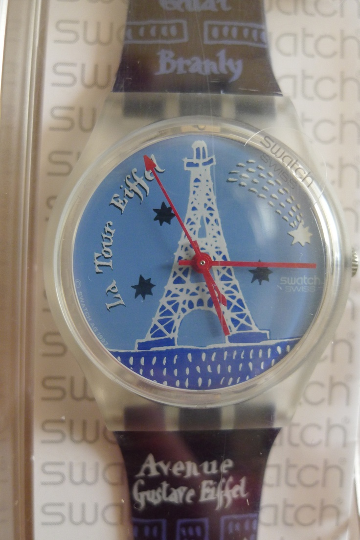Swatch Watch, Eiffel Tower (Tried to replace my old one ...