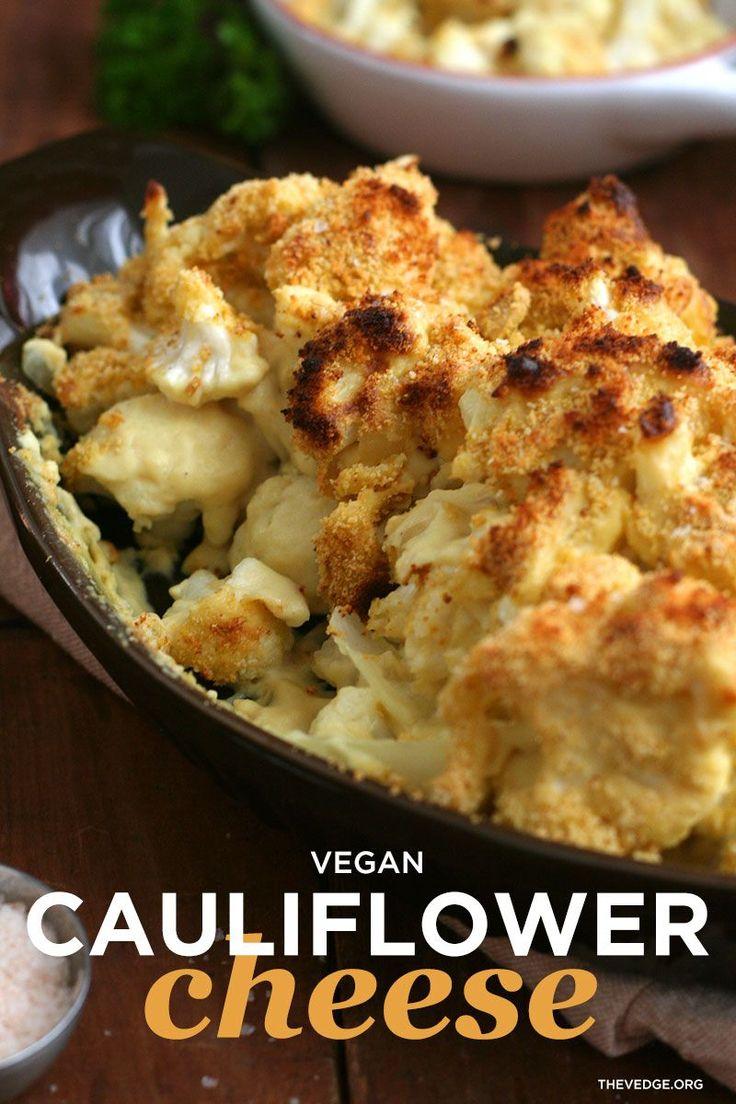 Vegan Cauliflower Cheese Gluten Free Dairy Free