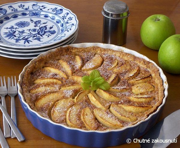Legendární jablečný koláč z Normandie a další prima rcp