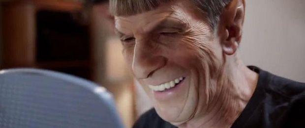 Star Trek Behind-the-Scenes Photos From Nimoy's Last Trek As Spock