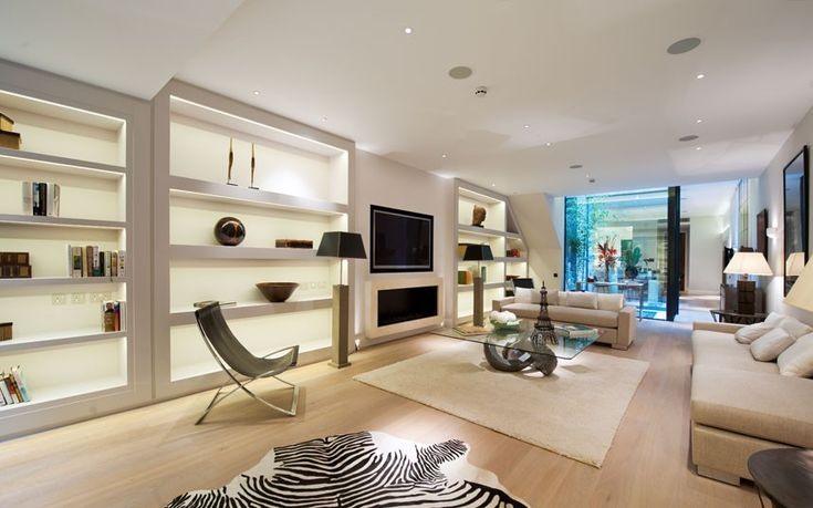 Best for a bigger family, this home in Kensington has five bedrooms, all of which have en-suites. Plus a huge amount of entertainment space, this is of course after the two reception rooms, gym, sauna and steam room.  Guide Price: N/A