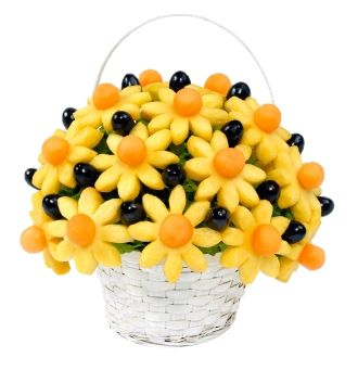 edible arrangement with pineapple
