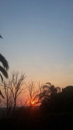 Sunsets Piet Retief.