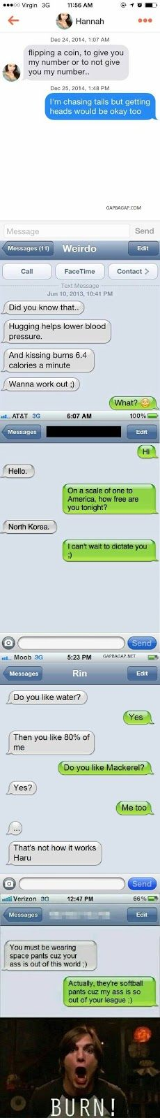 Top 10 Hilarious Text Messages About Boys vs. Girl...
