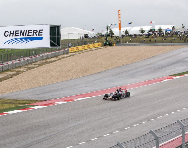 Todays Storm Sets Up a Very Exciting F1 Race Day