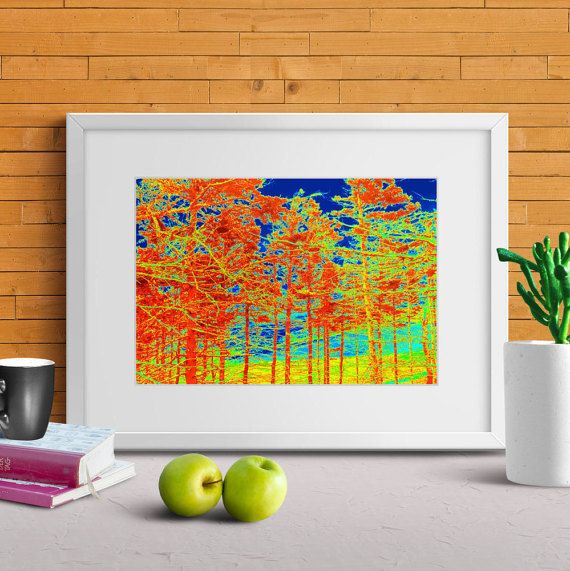 FREE SHIPPING TO CANADA/US FEATURED PRINT! This deal expires Sunday, October 16th at midnight eastern time zone! #Contemporary #Forest #Print #Landscape #TruImagesPhotoArt