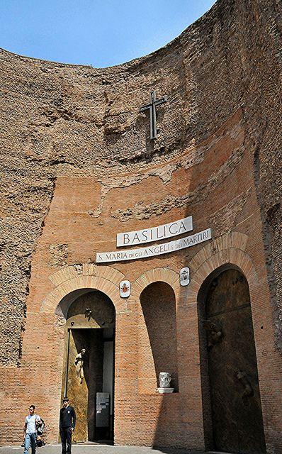 Rome - Santa Maria degli Angeli   Basilica of St. Mary of th…   Flickr