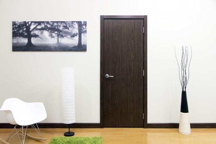 M34 Black Walnut Laminate Interior Door & 9 best Interior Laminate Doors images on Pinterest | Indoor gates ...
