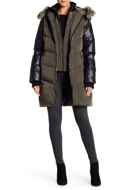 Image of Rudsak Faux Fur Ashley Coat