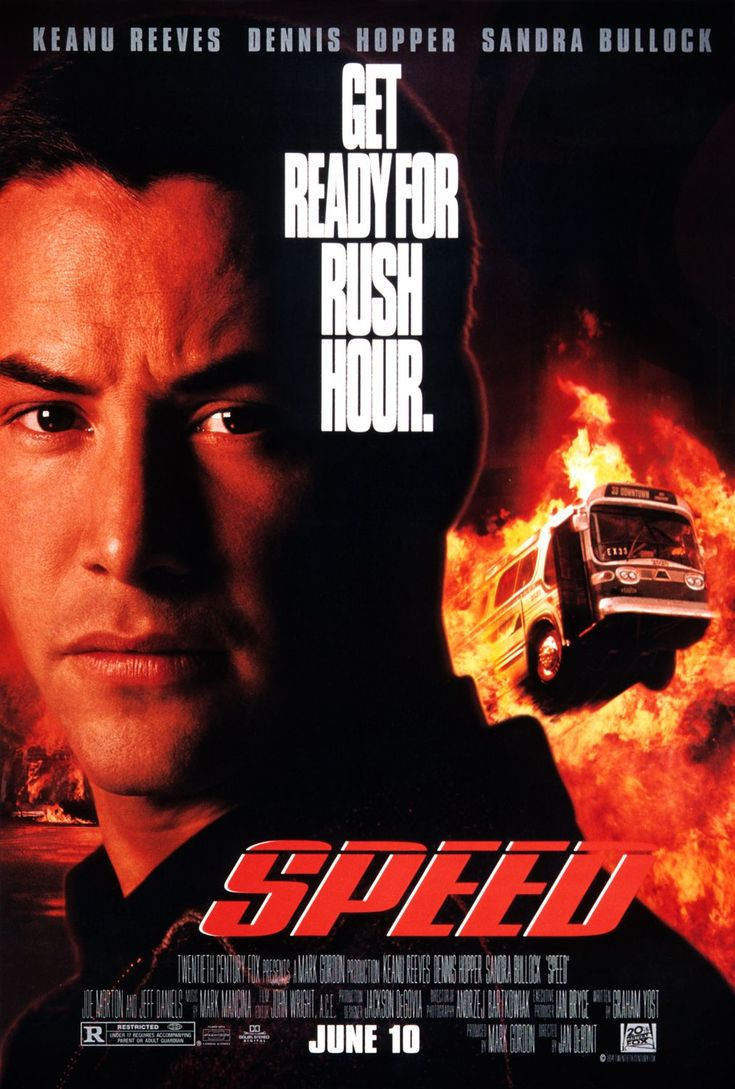 Speed with Keanu Reeves and Sandra Bullock