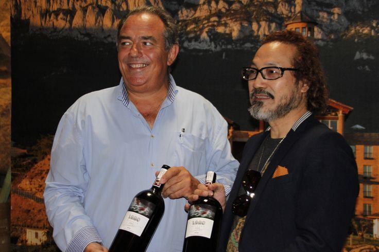 Eguren Ugarte presenta una edición especial para China de su vino reserva de autor Martín Cendoya con el artista Lv Zhon Ping. http://egurenugarte.com/un-vino-para-china/