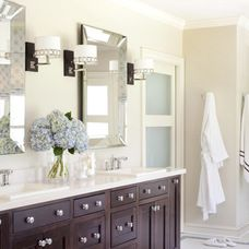 transitional bathroom ideas transitional bathroom by tobi fairley interior design t - Transitional Bathroom Ideas