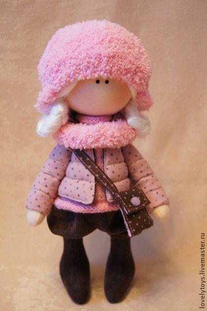 Коллекционные куклы ручной работы. Ярмарка Мастеров - ручная работа текстильная кукла. Handmade.