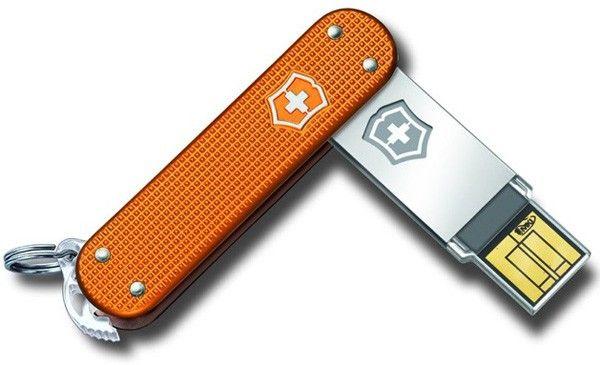 Victorinox bringt Schweizer Taschenmesser mit USB-Speicher ohne lästiges Messer - Engadget Deutschland
