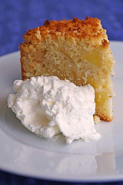 Apfelkuchen nach Omas Art mit Butterstreusel (Bake Cheesecake Fruit)