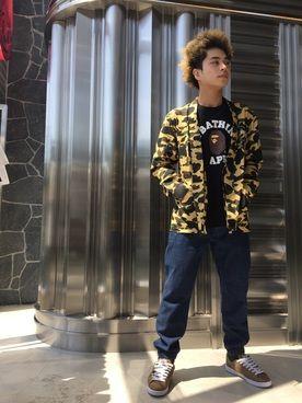 97545f6d7 BAPE STORE HARAJUKU|中澤 千尋さんのコーディネート | Bape | Fashion ...