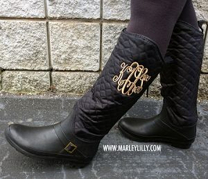 17 Best images about RAIN BOOTS on Pinterest | Monogram decal ...