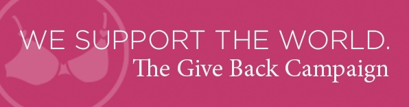 Send your gently used bras & we will give you up to $30 online voucher towards new bras!    Please send your bras to the location below in a small plastic bag or box. You MUST wash all bras. Please ensure the straps & clasps work and there are no rips or tears. Enclose your name, email address & # of bras sent.     Bras for Charity   100 Congress Street   Bridgeport, CT 06604     You'll get $10 in gift vouchers per bra, up to $30. Voucher will come via email. Must have valid email address.
