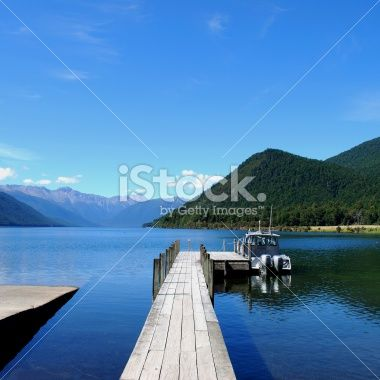 Lake Rotoroa, Nelson Lakes National Park, NZ Royalty Free Stock Photo