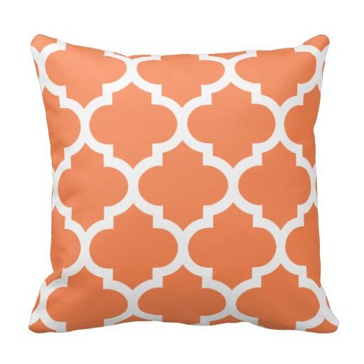 Quatrefoil Pillow in Nectarine Orange today price drop and special promotion. Get The best buyDiscount Deals          	Quatrefoil Pillow in Nectarine Orange Online Secure Check out Quick and Easy...
