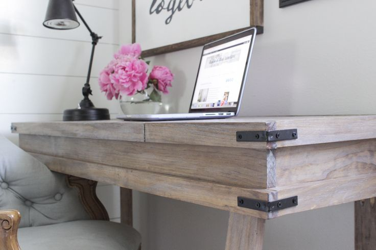 a white washed wood finish with raised grain on a rustic desk p a i n t p e r f e c t. Black Bedroom Furniture Sets. Home Design Ideas