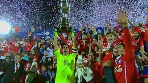 CHILE CAMPEÓN COPA AMERICA 2015 ★★★♡♡♡