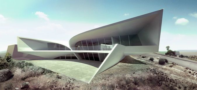 Zaha Hadid Architects , La Jolla, CA