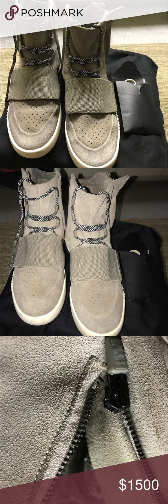 Adidas yeezy Boost 750 og gray size 11 Good condition Adidas Shoes Boots