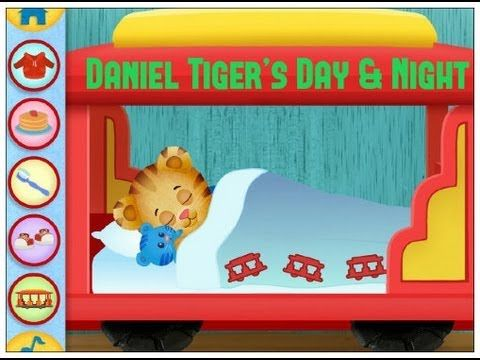 Daniel Tiger's Day & Night, Kids Learn Morning/Bed Routine (Video) - http://crazymikesapps.com/daniel-tigers-day-night-review-video/?Pinterest
